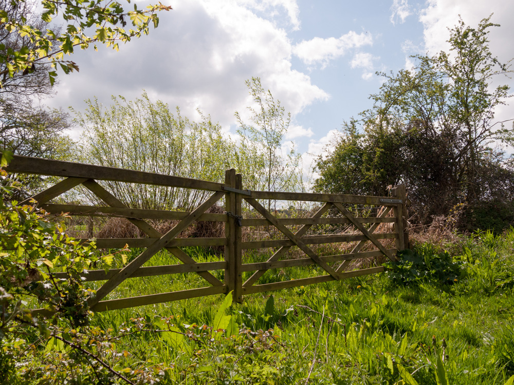 5 Bar Gates in Hampshire, Wiltshire and Surrey